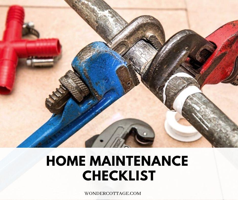 Handy+Home+Maintenance+Checklist+-+Wonder+Cottage