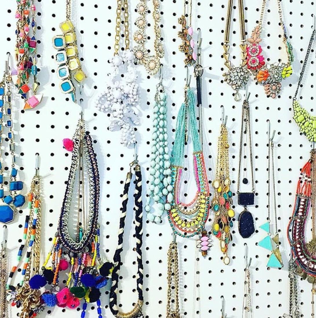 wall hanging jewellery organizer