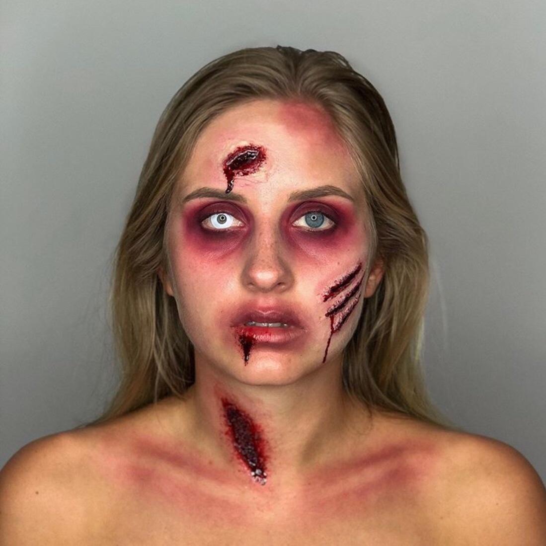 lipstick blood makeup