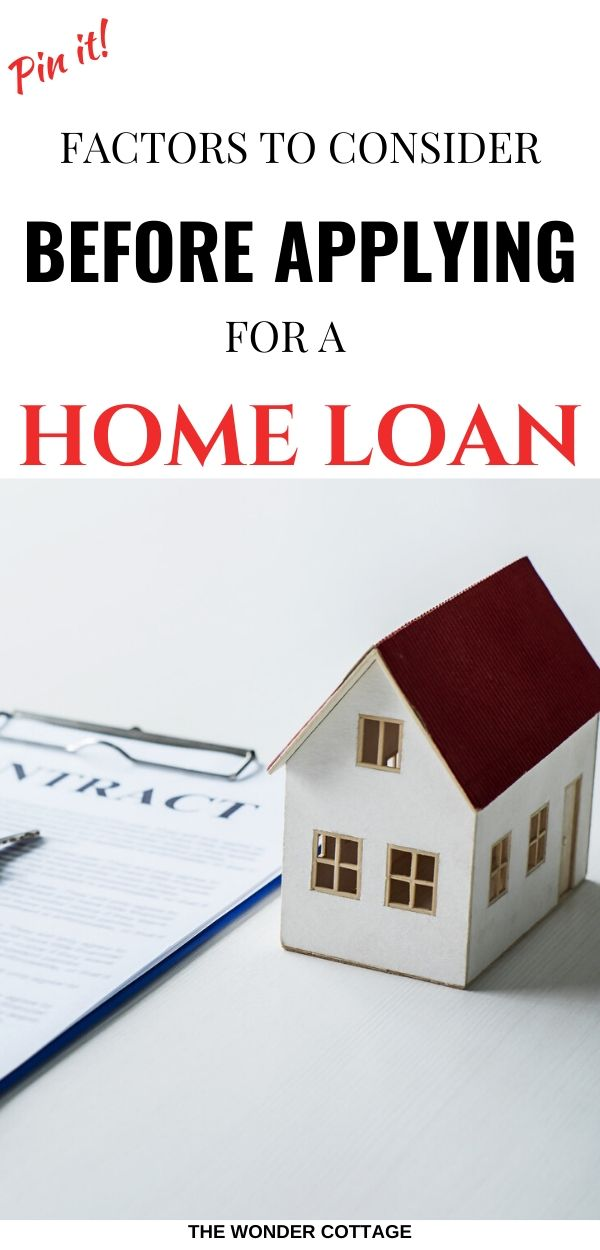 home loans applications