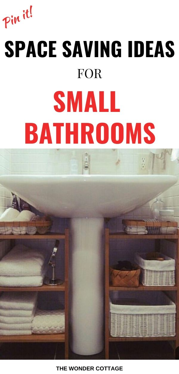 how to manage a small bathroom