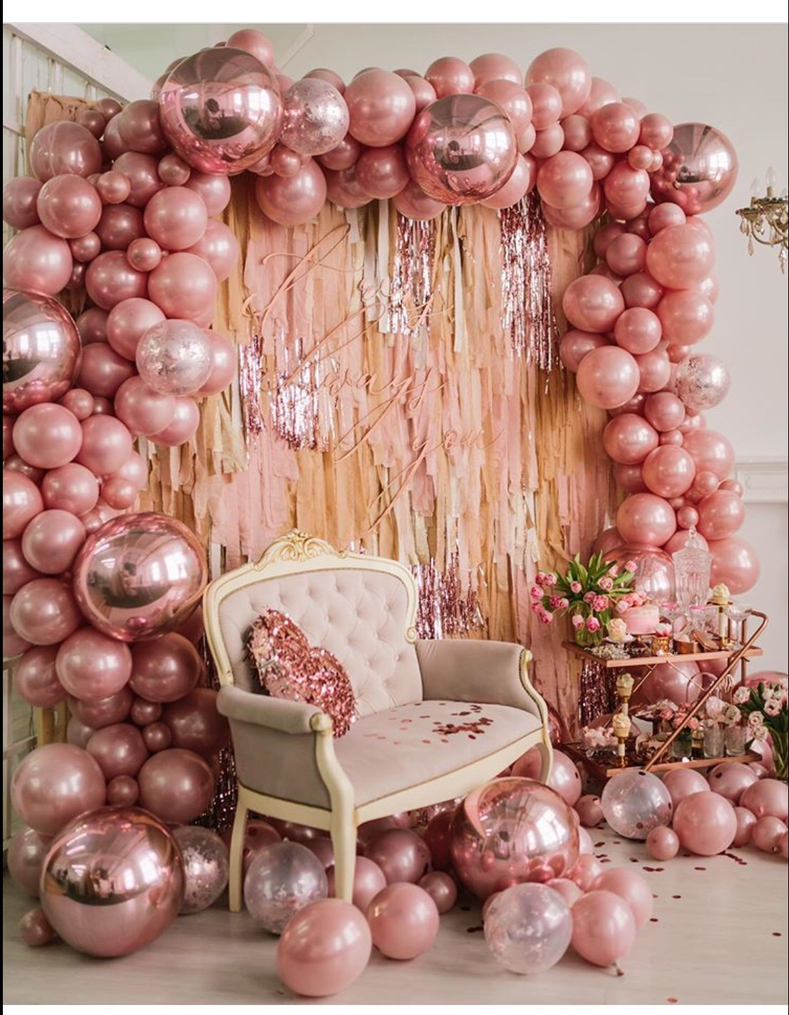 galentine's day party decor