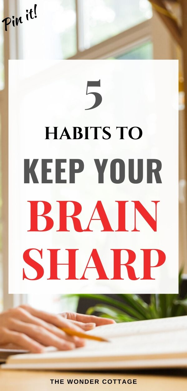 how to keep your brain sharp