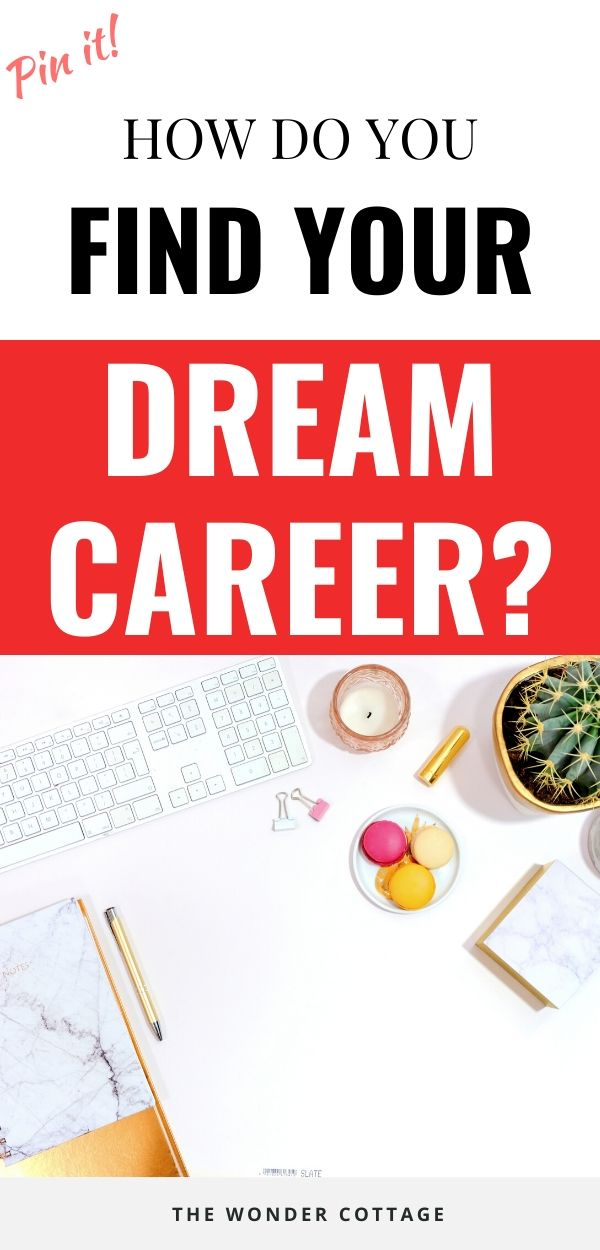 how to find your dream career