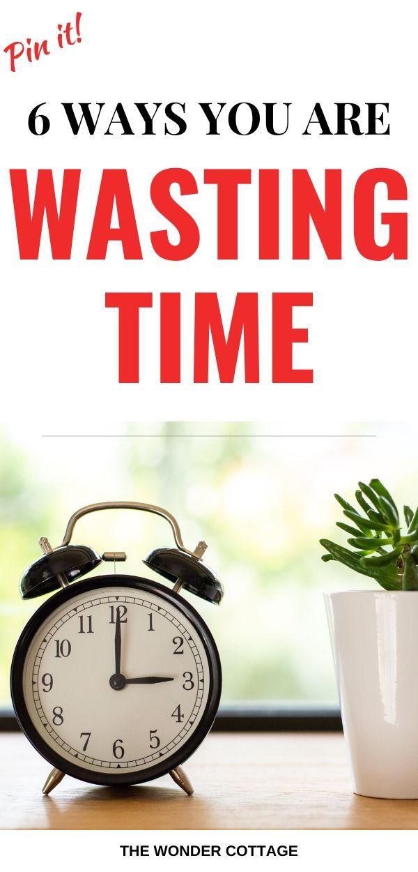 time management mistakes you are making