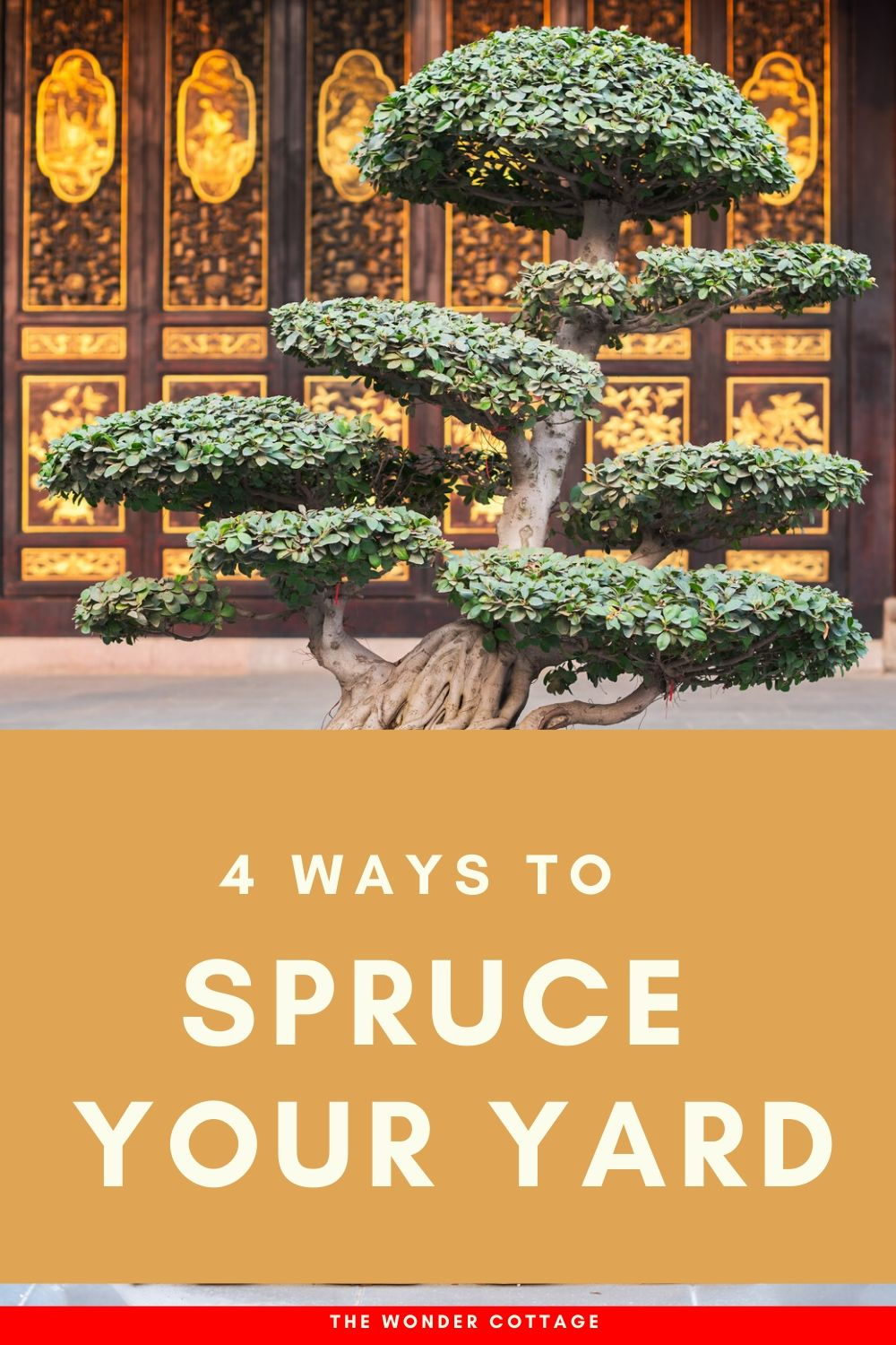 ways to spruce your yard
