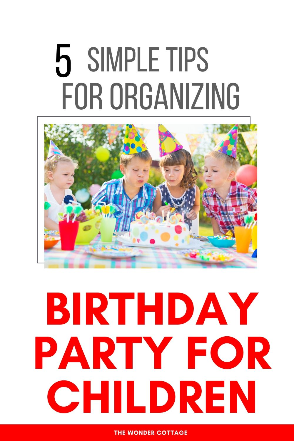 tips for throwing a birthday party for children