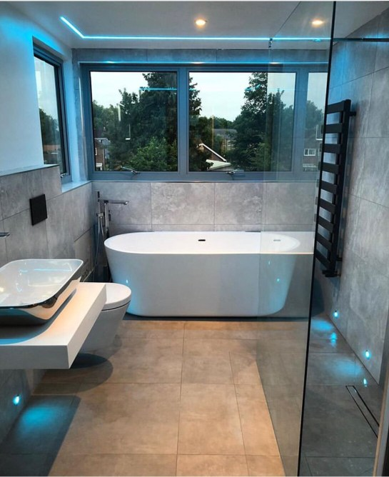 led strip lights for bathroom