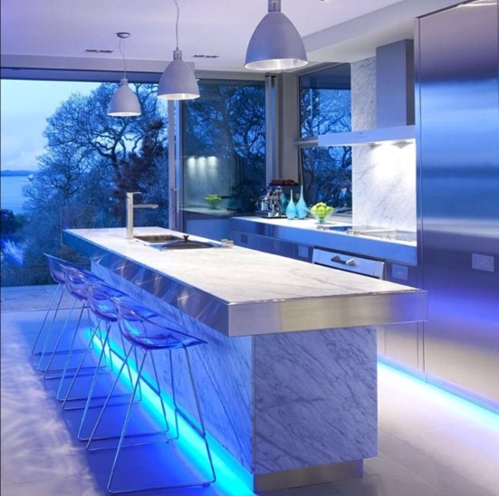 led strips for kitchen