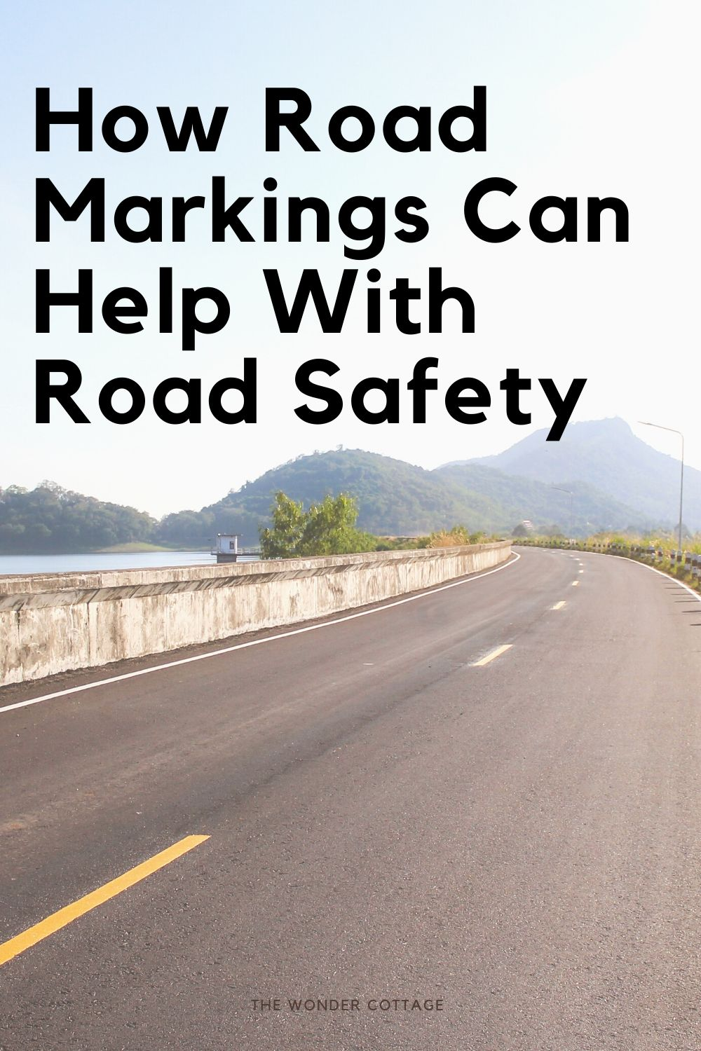 how road markings can help with road safety