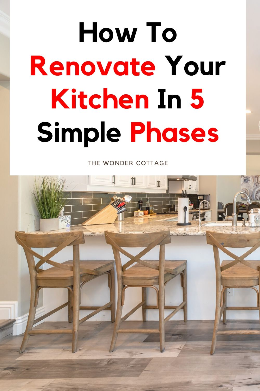 How to renovate your kitchen in 5 simple phases