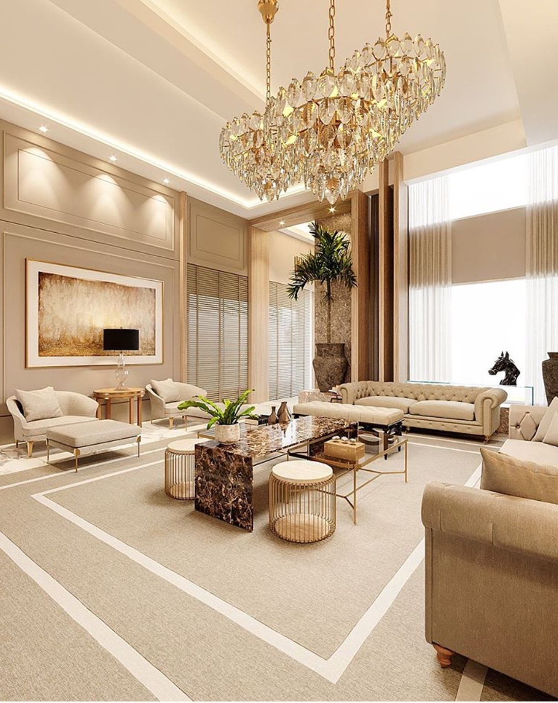 luxury living room