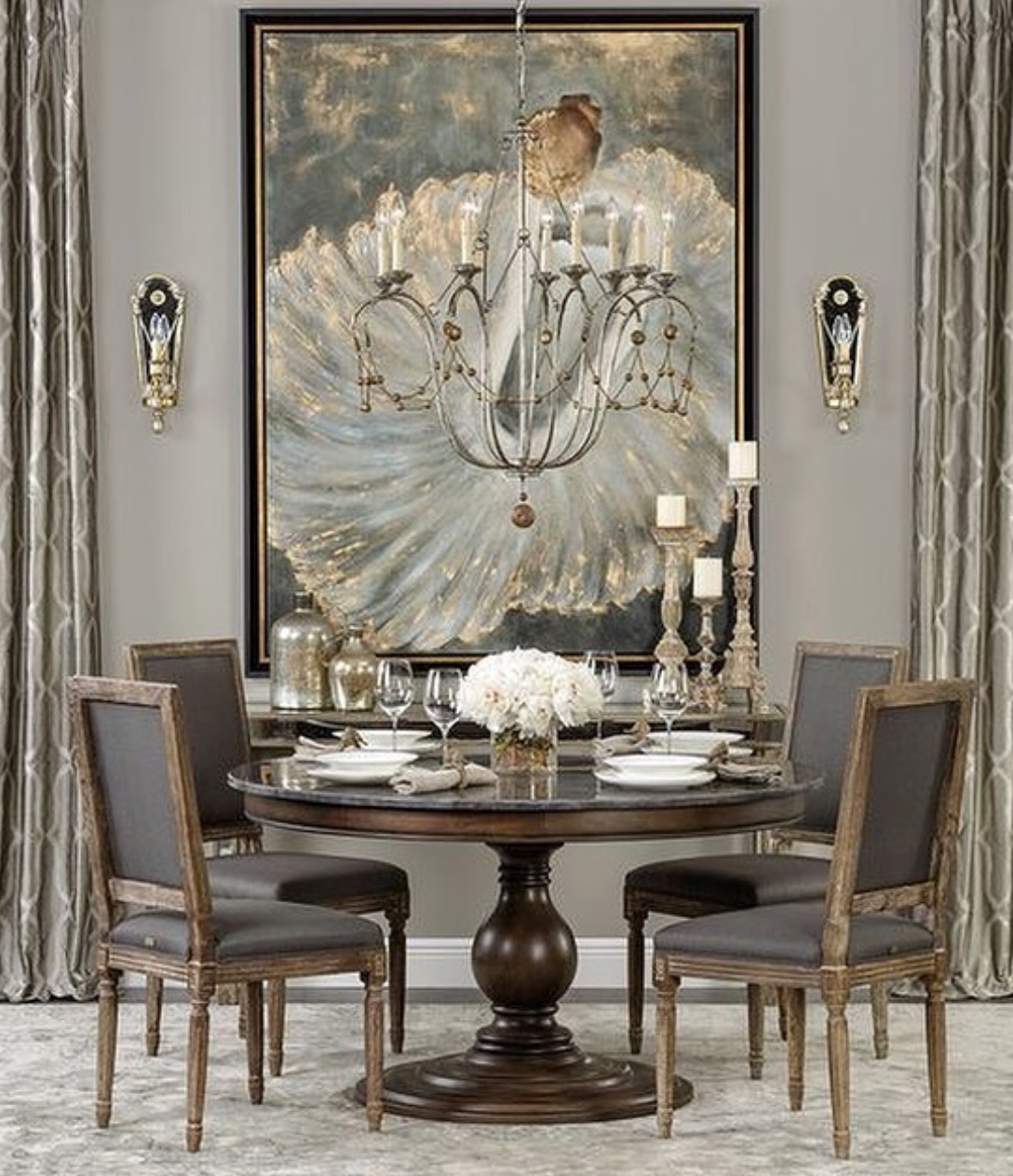 luxury dining room ideas