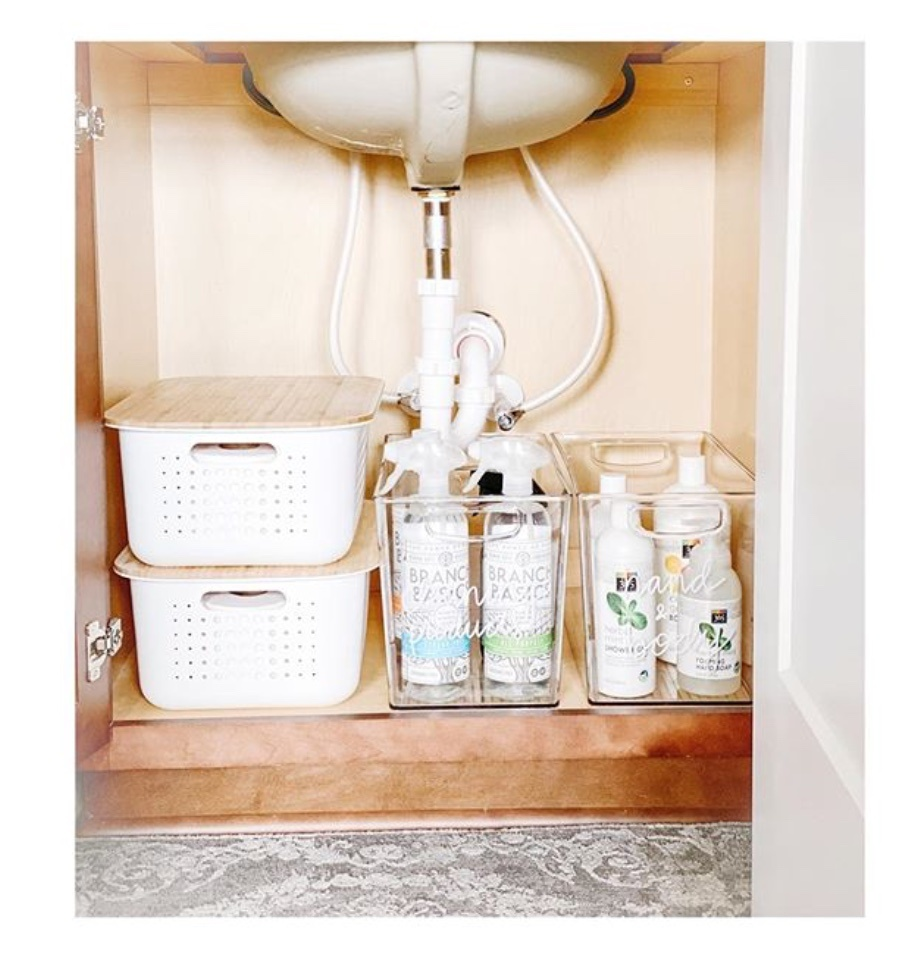 undersink organization ideas