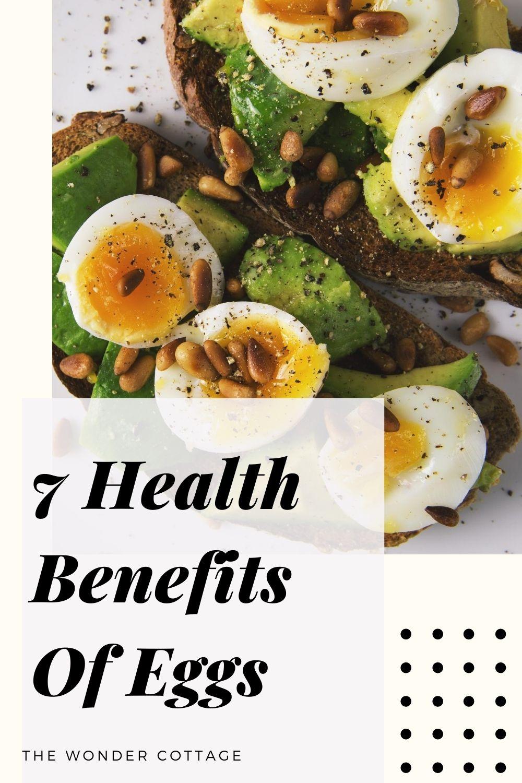 7 health benefits of eggs