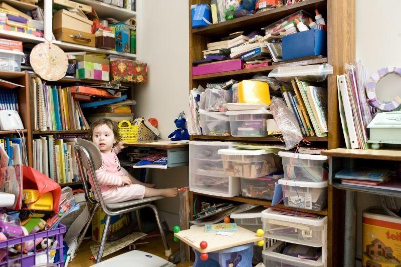home improvement idea - declutter your home