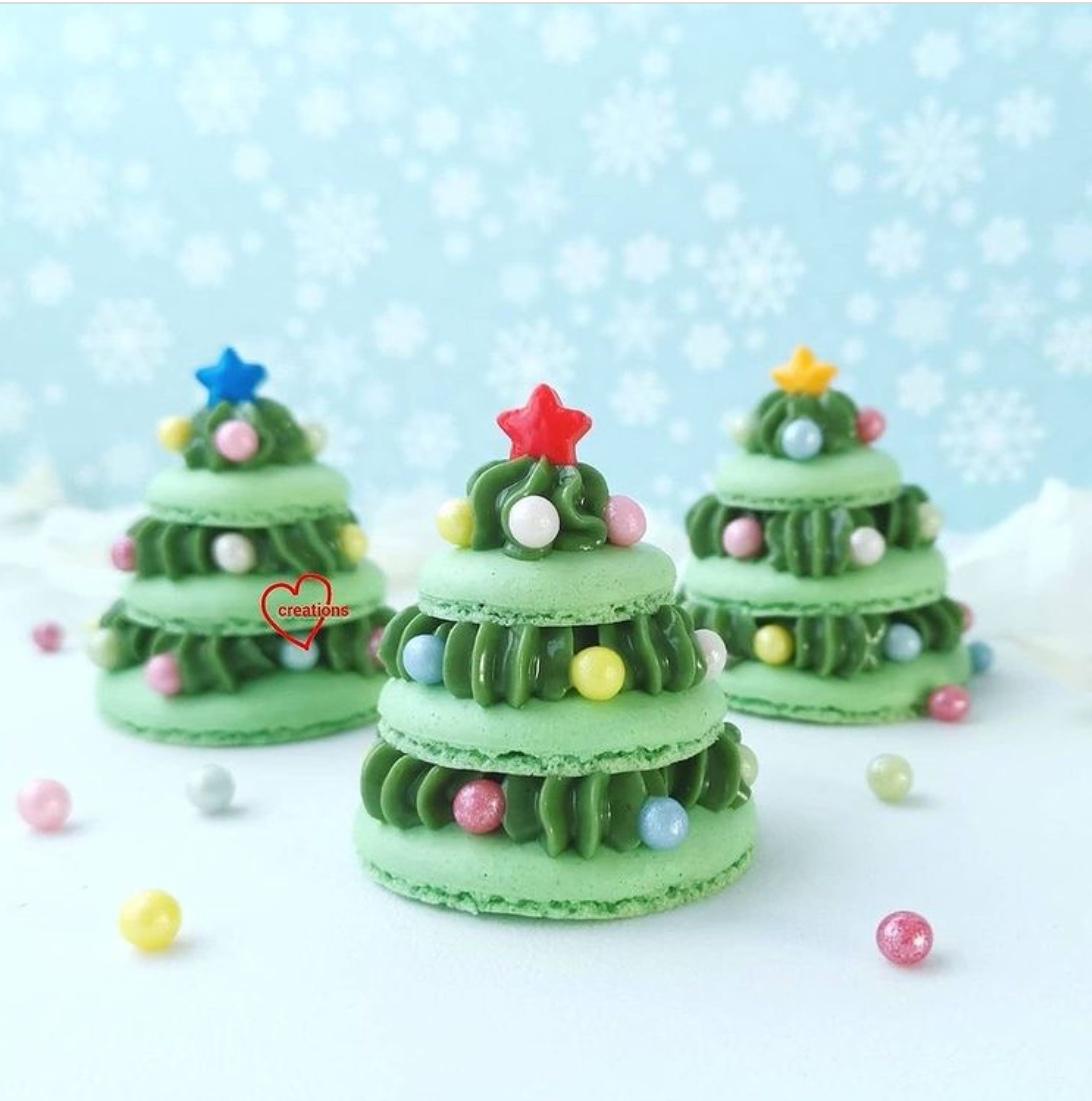christmas desserts - macaroons
