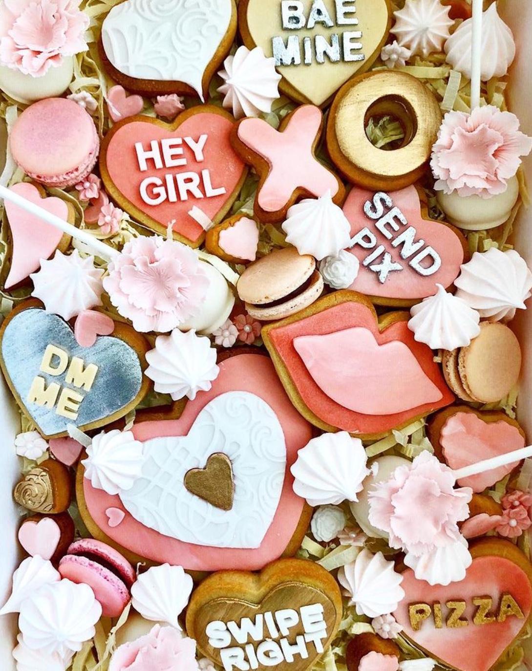 valentine's day dessert boards