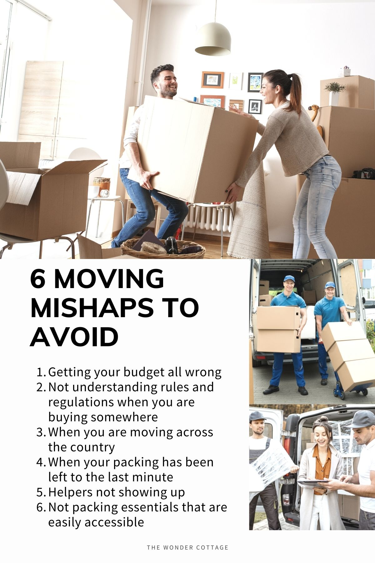 moving mishaps you'll want to avoid