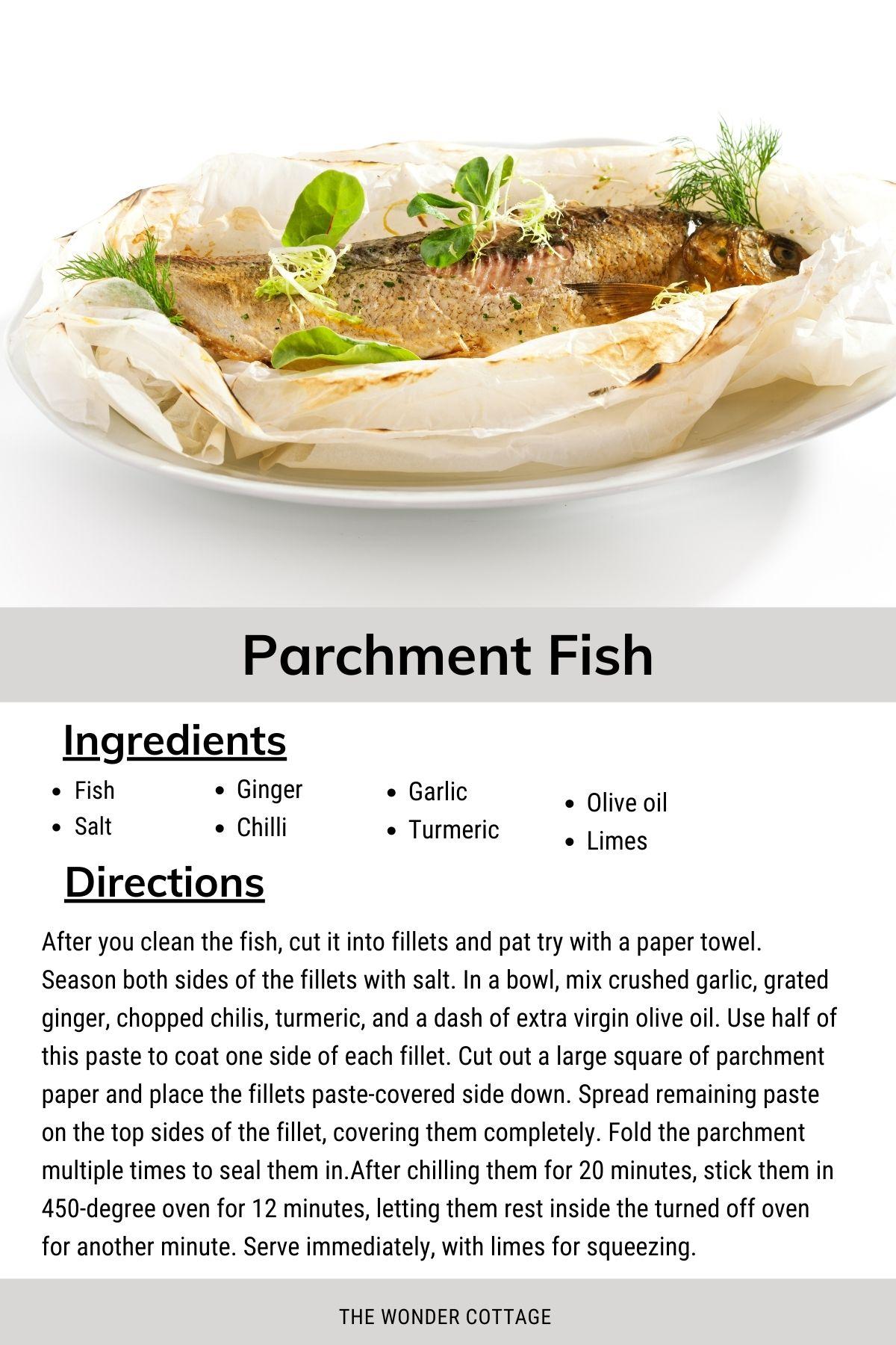 parchment fish recipes