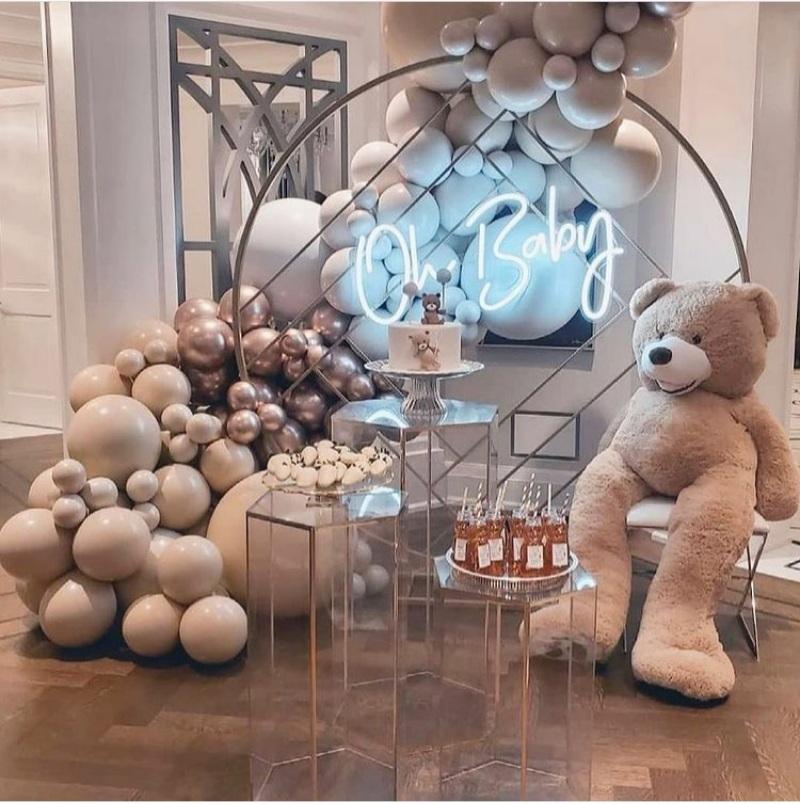 balloon decor ideas for baby shower