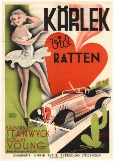 Kärlek vid ratten (1935) Accnr 4327