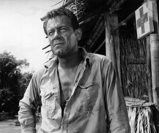Title: BRIDGE ON THE RIVER KWAI, THE ¥ Pers: HOLDEN, WILLIAM ¥ Year: 1957 ¥ Dir: LEAN, DAVID ¥ Ref: BRI016DR ¥ Credit: [ COLUMBIA / THE KOBAL COLLECTION ]