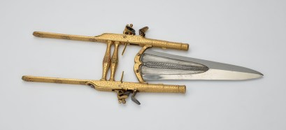 2. Punch dagger with pistols. Royal Collection Trust/© Her Majesty Queen Elizabeth II 2017