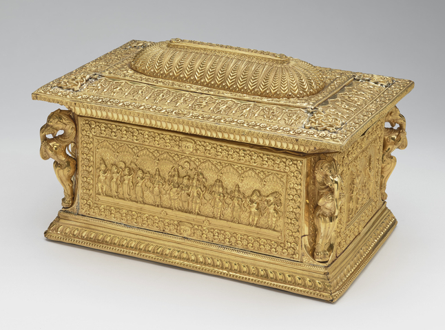 Address casket from Madurai. Royal Collection Trust/© Her Majesty Queen Elizabeth II 2017