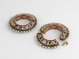 Bangles from Jaipur. Royal Collection Trust/© Her Majesty Queen Elizabeth II 2017