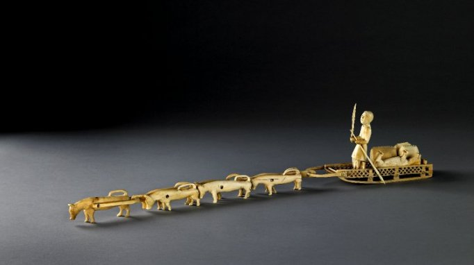 Dog sledge model. As.5068.b