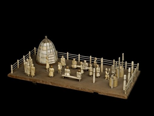 Model of summer camp (Ysyakh). As.5068.a