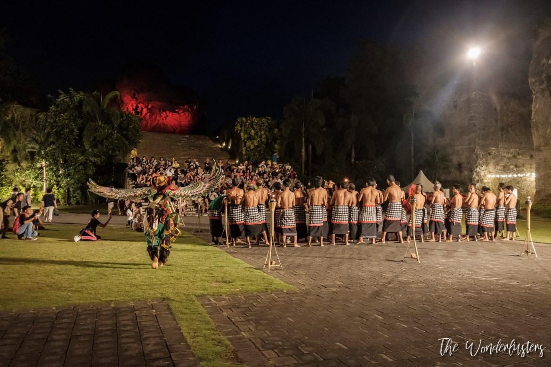 Garuda Wisnu Kencana Fire Dance