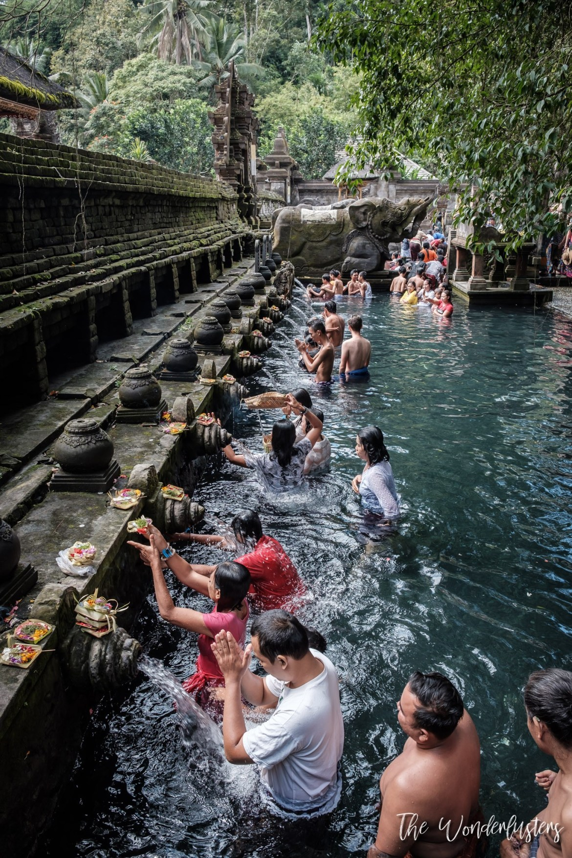 Holy Water at Tirta Empul Temple