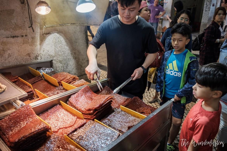 Macau Meat Jerky