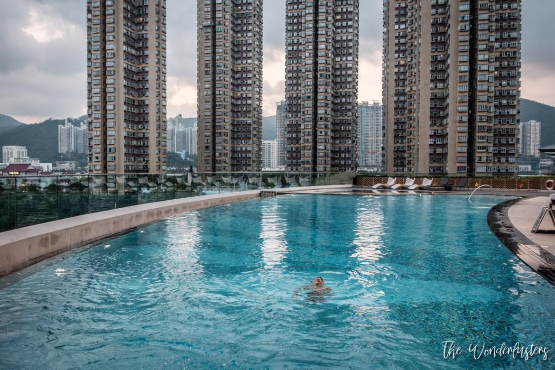 Pool at Courtyard by Marriott Hong Kong Sha Tin