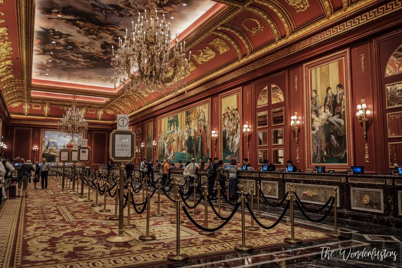 The Parisian Macao Lobby