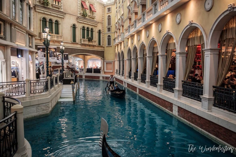 The Venetian Indoor Canal
