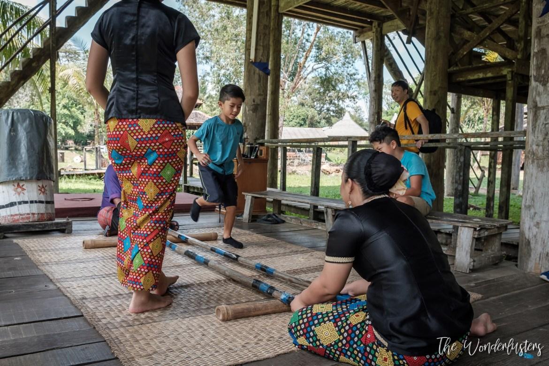 Traditional Dance at Sarawak Cultural Village