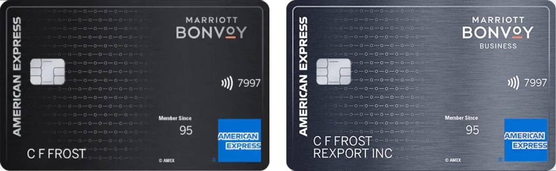 Amex Bonvoy Cards