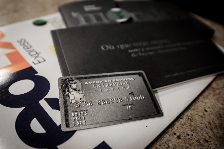 La carte American Express Platine PME