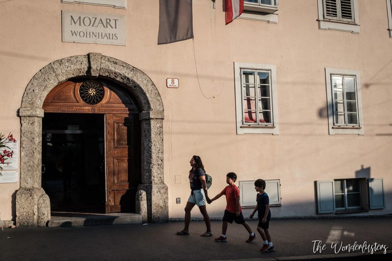 Mozart's House Salzburg