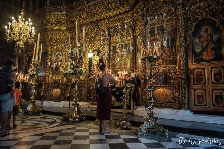 Rila Monastery - Church