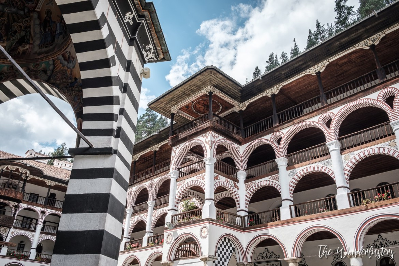 Rila Monastery - Interior Court