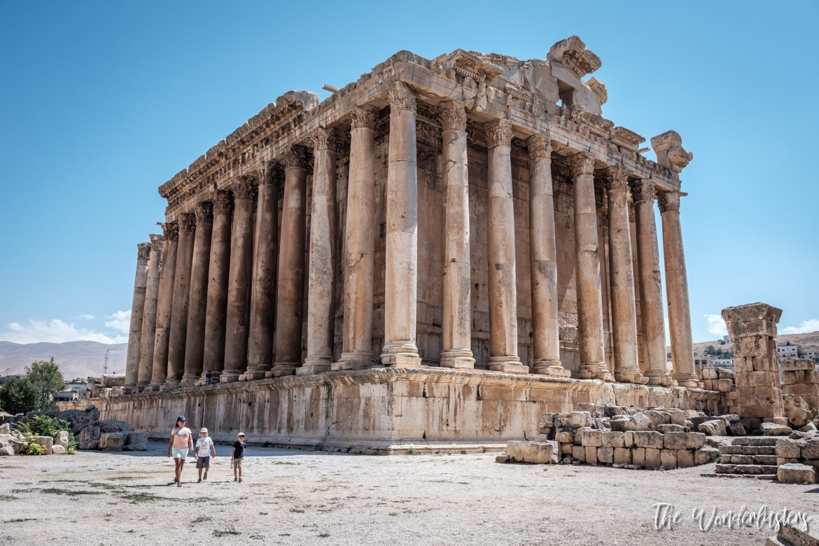 Baalbek - Temple of Bacchus