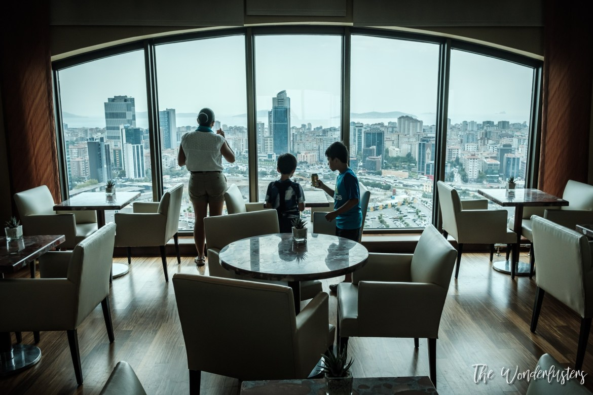 Istanbul Marriott Hotel Asia - Lounge