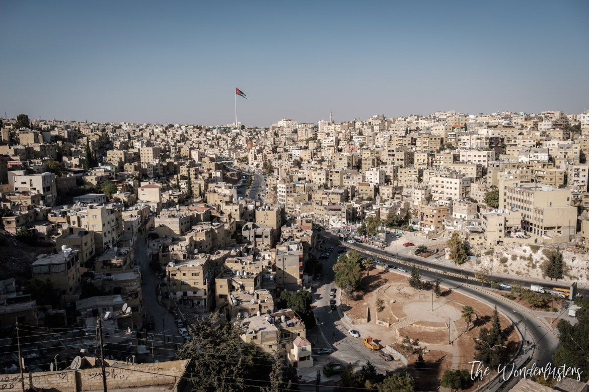 Amman from the Citadelle