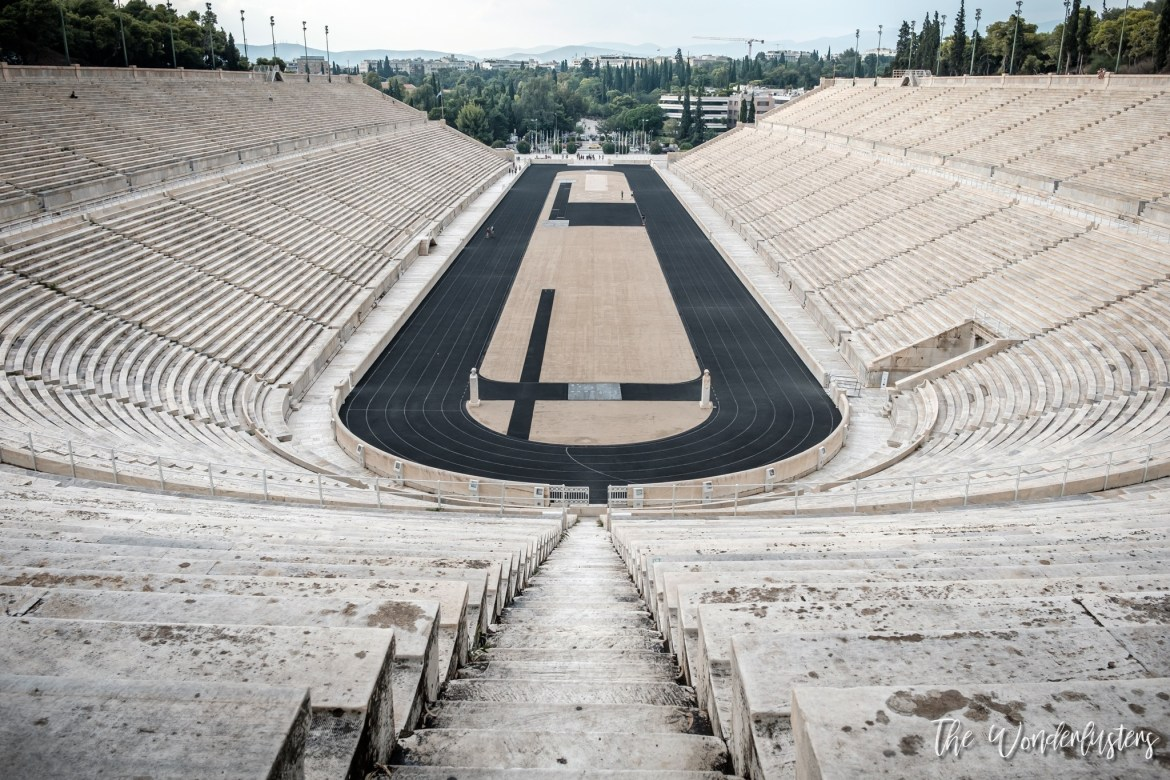 Athens - the Panathenaic Stadium