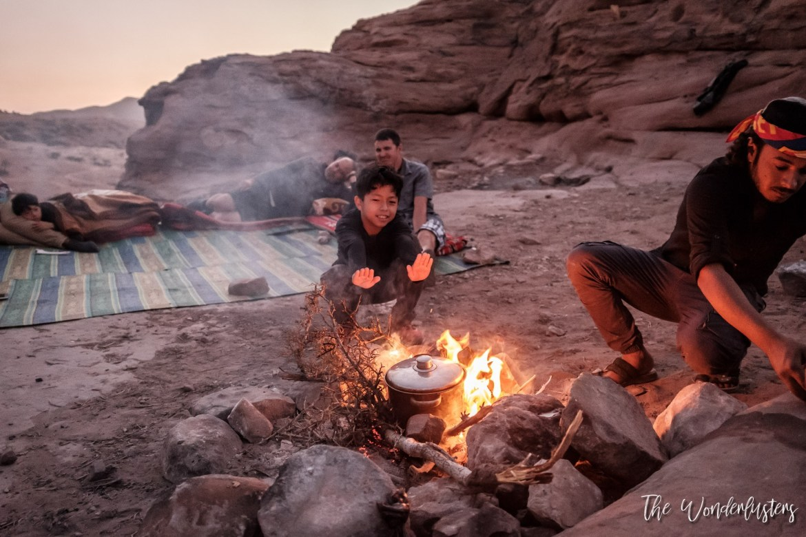 Cooking Bedouin Food
