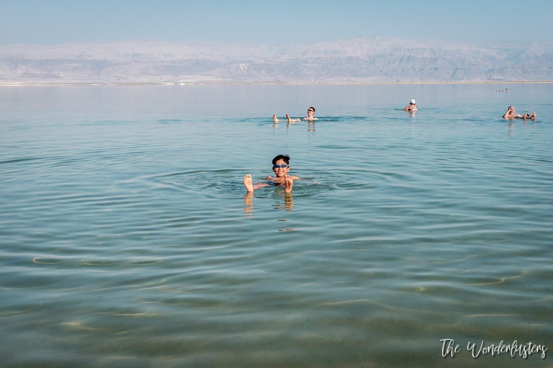 Dead Sea at Ein Bokek